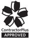 ContractorPlus Approved logo